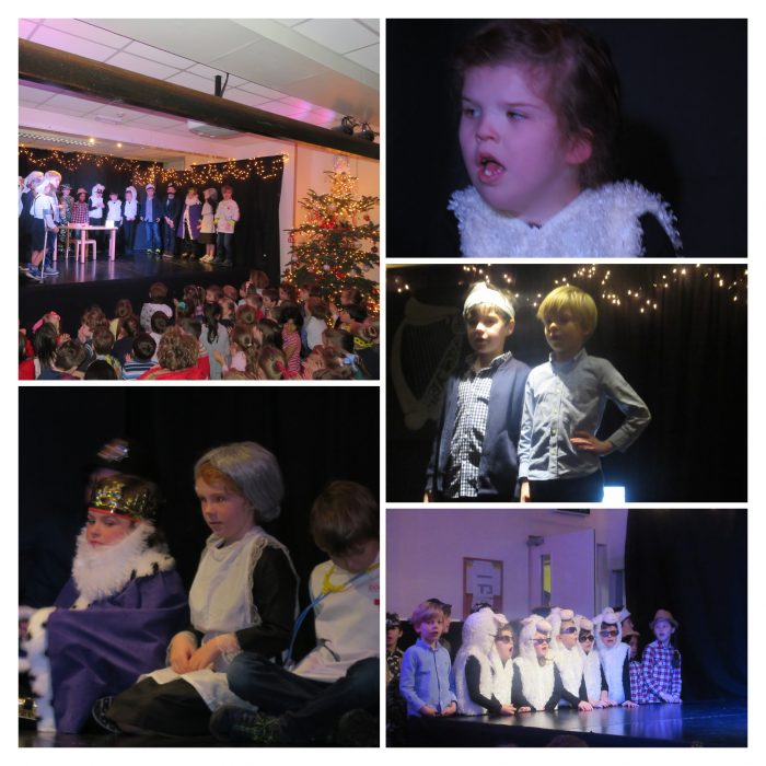 Humpty Dumpty: Was He Pushed or Did He Fall?  Form One Christmas Play