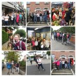 Fun on the Form Six Sponsored Walk for Charity