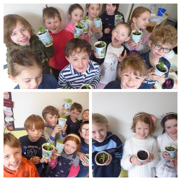 Form One Have Green Fingers!