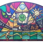 THE STORY BEHIND THE RJS CENTENARY STAINED GLASS WINDOW