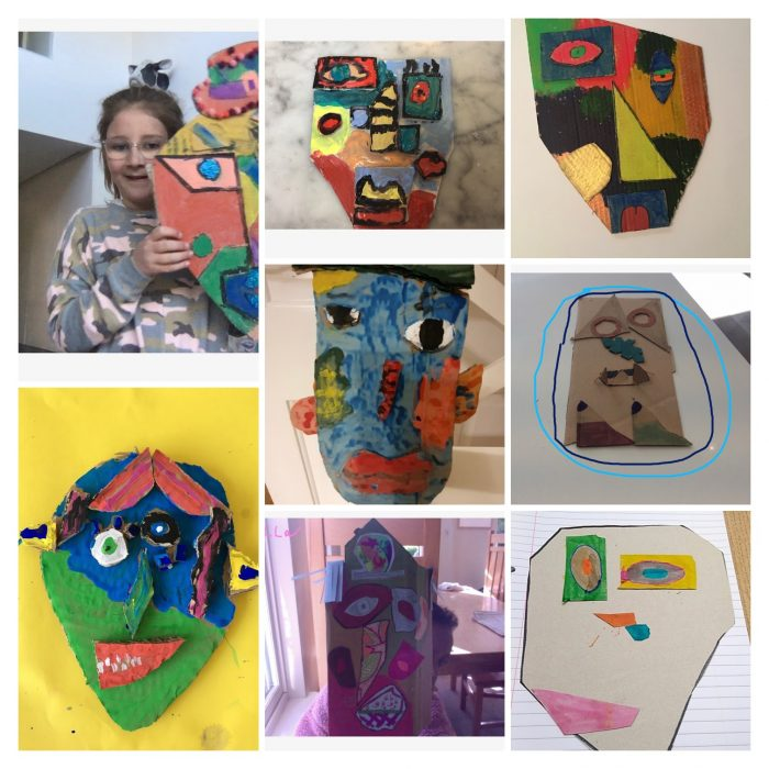 Pablo Picasso in Form 3