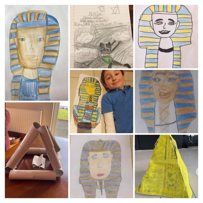 Form 3 Took a Trip to Ancient Egypt